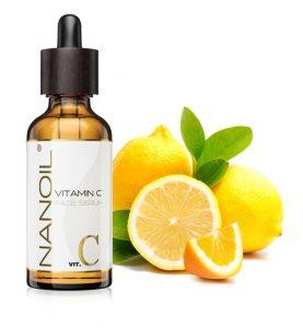 topbedømt vitamin c ansigtsserum Nanoil